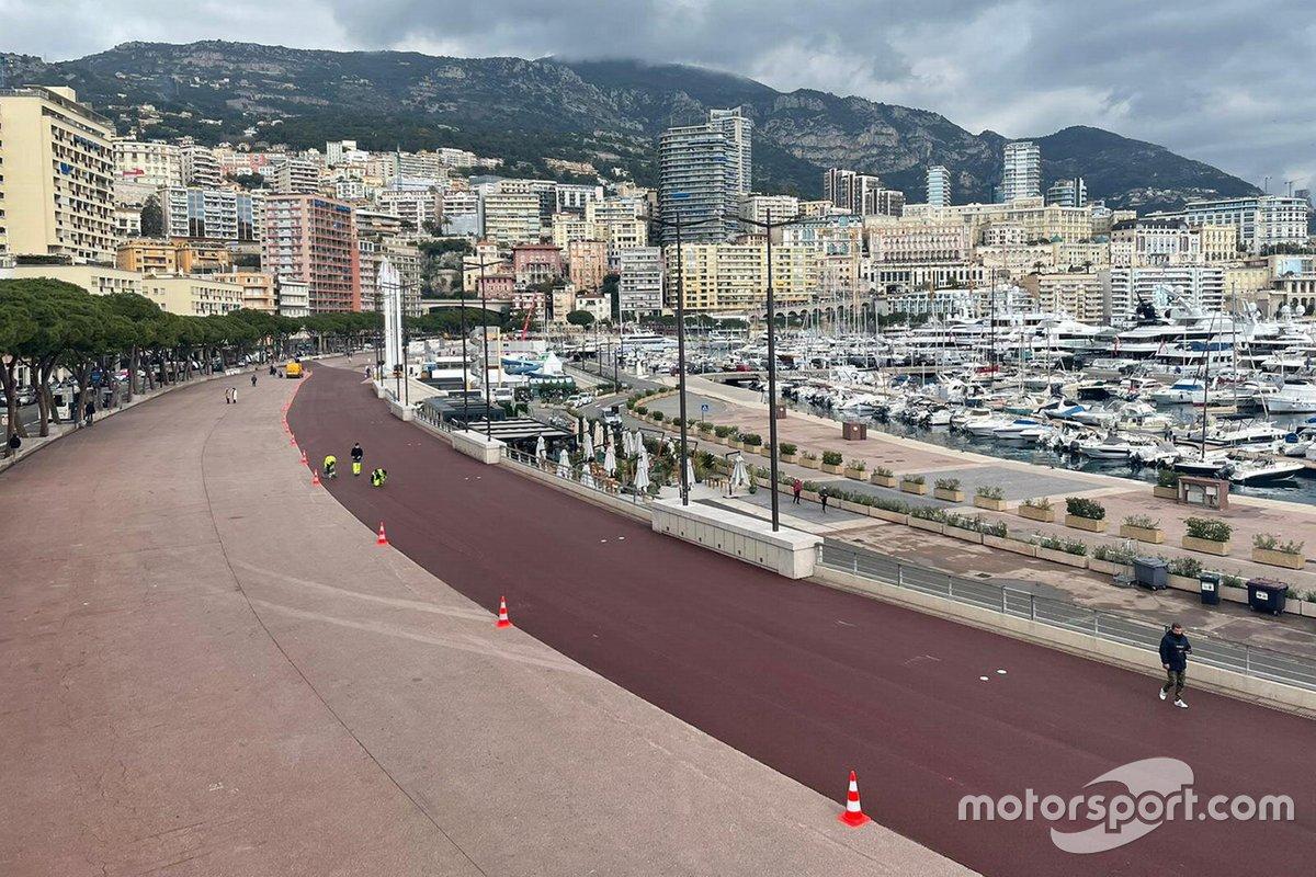 Przygotowania do GP Monako 2021
