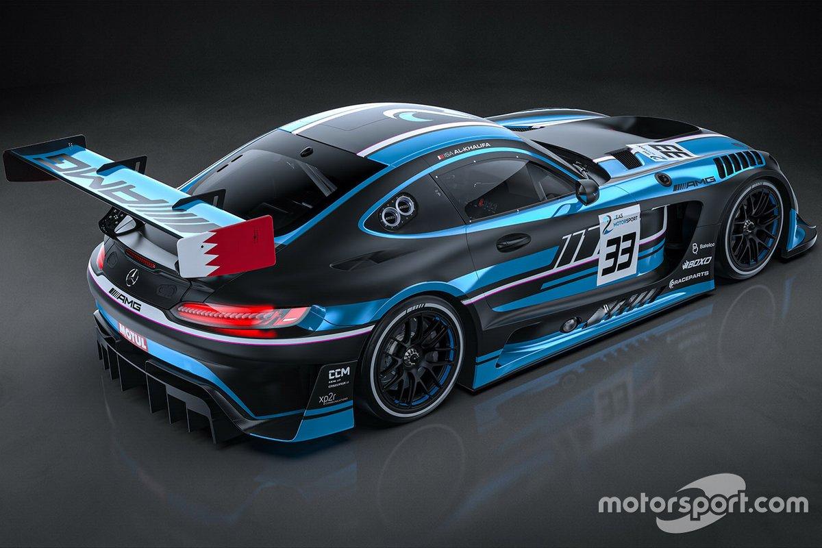 2 Seas Motorsport Mercedes AMG GT3