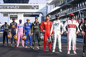 Drivers end of season group photo