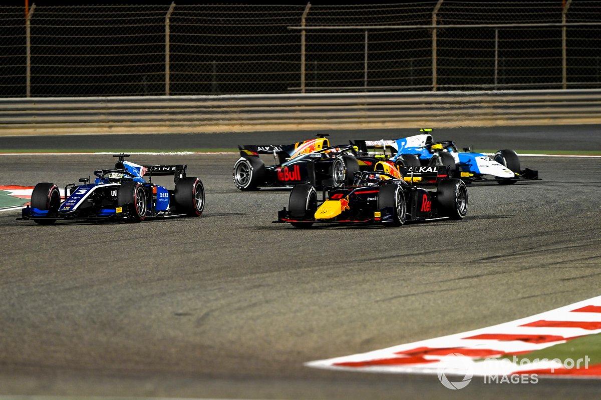 Juri Vips, Hitech Grand Prix, Guanyu Zhou, Uni-Virtuosi Racing, Jehan Daruvala, Carlin, Lirim Zendeli, MP Motorsport
