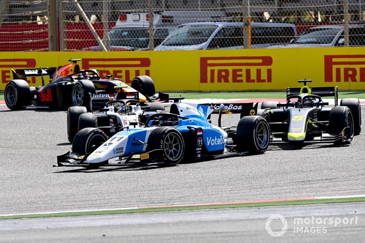 Richard Verschoor, MP Motorsport y Dan Ticktum, Carlin