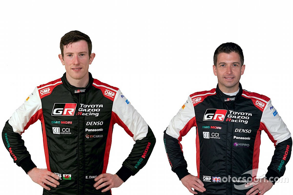 Toyota Gazoo Racing WRT. Экипаж № 33: Эванс – Мартин