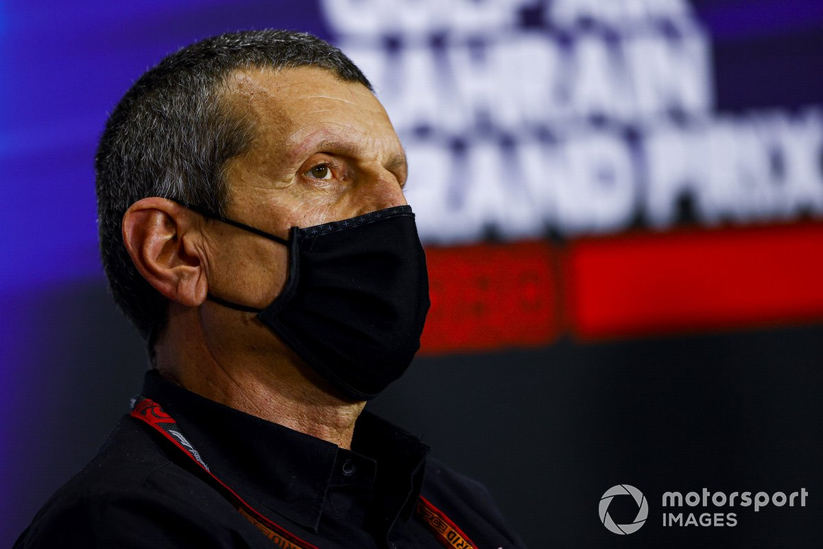 Guenther Steiner, Team Principal, Haas F1, in conferenza stampa