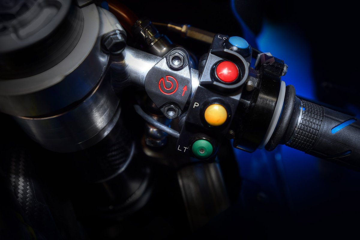 Detalle de los frenos Brembo de MotoGP