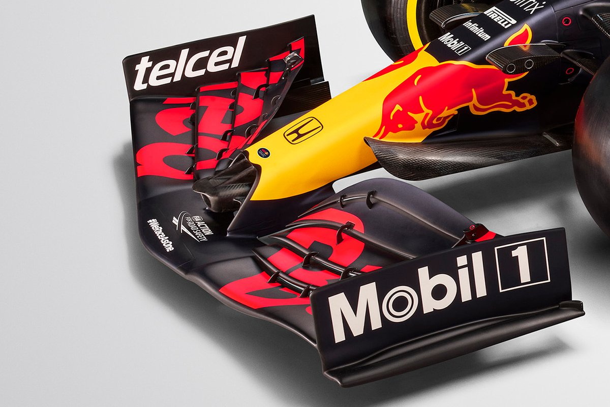 Aileron avant de la Red Bull Racing RB16B