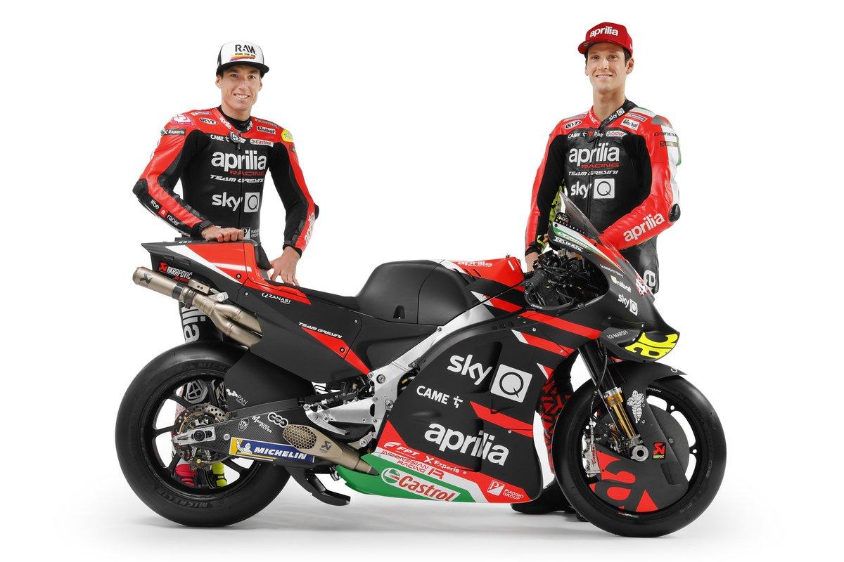 Aleix Espargaro et Lorenzo Savadori, Aprilia Racing Team Gresini