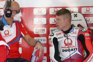 Tito Rabat, Pramac Racing, mit Daniele Romagnoli