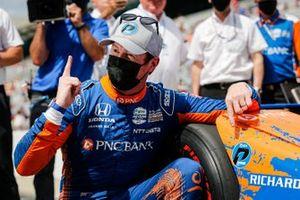Обладатель поула Скотт Диксон, Chip Ganassi Racing Honda