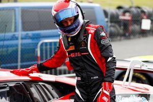 Race Winner #18 Michael Igoe / Phil Keen - WPI Motorsport Lamborghini Huracan GT3 Evo celebrates in Parc Ferme