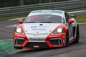 #252 Ebimotors, Porsche 718 Cayman GT4: Sabino De Castro, Matteo Arrigosi