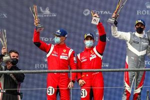 Podio: #51 AF Corse Ferrari 488 GTE EVO: Alessandro Pier Guidi, James Calado
