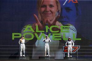Fabienne Wohlwend, Alice Powell, Jamie Chadwick