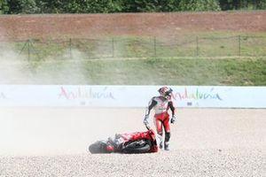 Sturz: Jorge Martin, Pramac Racing