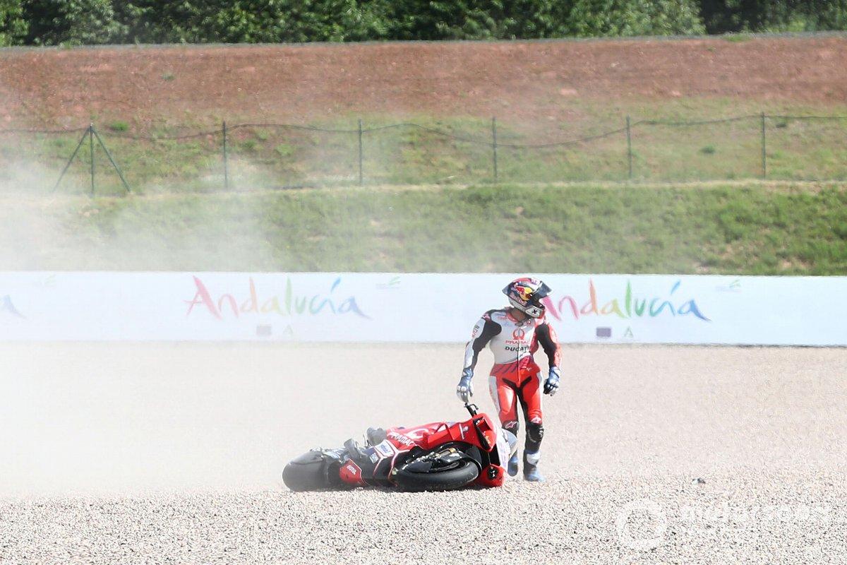 Accidente de Jorge Martín, Pramac Racing