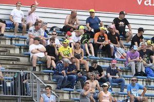 Des fans dans les tribunes