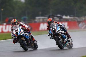Michael van der Mark, BMW Motorrad WorldSBK Team, Jonas Folger, Bonovo MGM Racing