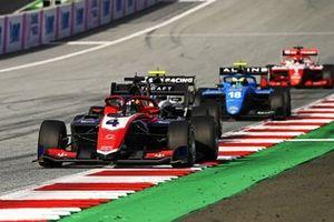 Jack Doohan, Trident, Caio Collet, Mp Motorsport et Dennis Hauger, Prema Racing