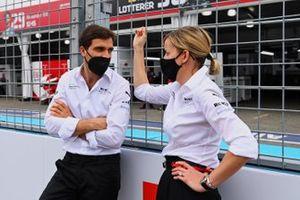 Jerome d'Ambrosio, team principal adjoint de Venturi Racing, Susie Wolff, team principal de Venturi Racing
