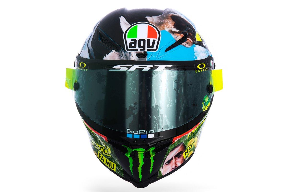 Шлем Валентино Росси, Petronas Yamaha SRT