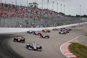 Restart: Will Power, Team Penske Chevrolet, führt