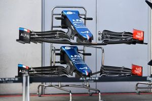 Alpine A521 detail nose and front wing detail