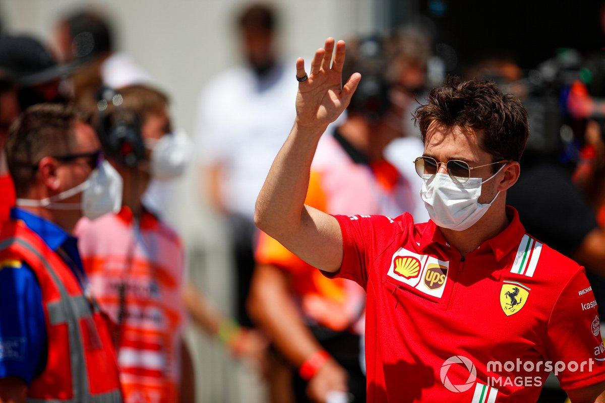 Spielberg 1: Charles Leclerc (Ferrari)