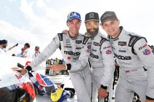Race winner #55: Mazda Motorsports Mazda DPi, DPi: Harry Tincknell, Oliver Jarvis, Jonathan Bomarito