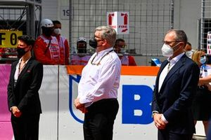 Ross Brawn, Managing Director of Motorsports, and Stefano Domenicali, CEO, Formula 1