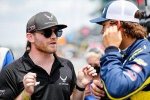 Conor Daly, Ed Carpenter Racing Chevrolet and RC Enerson, Top Gun Racing Chevrolet