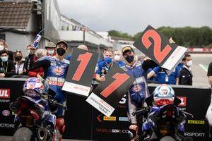 Toprak Razgatlioglu, PATA Yamaha WorldSBK Team, Garrett Gerloff, GRT Yamaha WorldSBK Team
