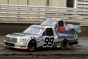 Ben Rhodes, ThorSport Racing, Toyota Tundra Bombardier / Learjet 75, Todd Gilliland, Front Row Motorsports, Ford F-150 Frontline Enterprises INC.