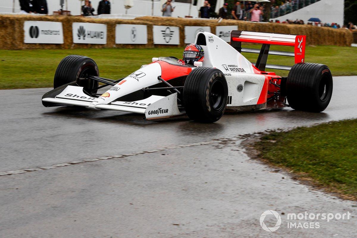 Emerson Fittipaldi, McLaren-Honda MP4/6