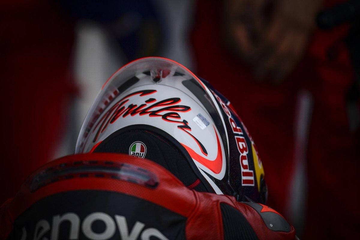 Ganador de la carrera Jack Miller, Ducati Team