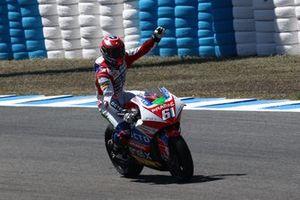 Le vainqueur Alessandro Zaccone, OCTO Pramac MotoE