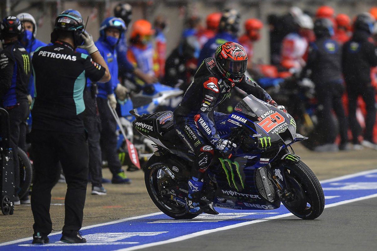 Fabio Quartararo, Yamaha Factory Racing, cambio de motos