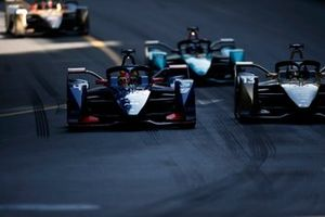 Robin Frijns, Envision Virgin Racing, Audi e-tron FE07, battles with Antonio Felix Da Costa, DS Techeetah, DS E-Tense FE21