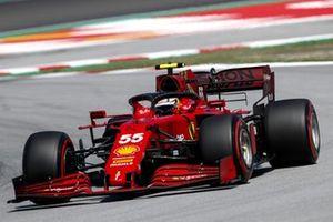 Carlos Sainz Jr., Ferrari SF21