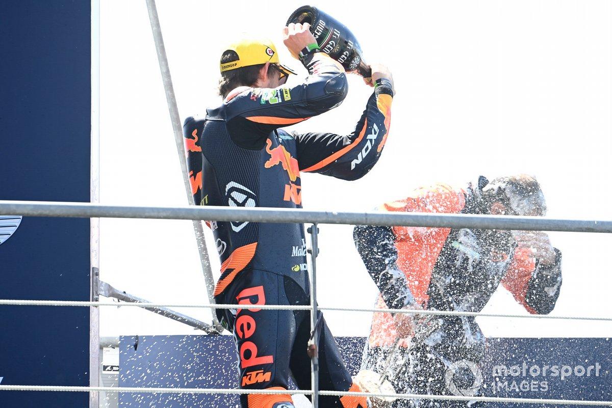 Podio: Remy Gardner, Red Bull KTM Ajo