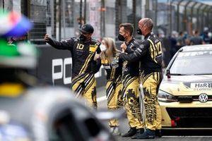 #333 Max Kruse Racing VW Golf GTI TCR: Frédéric Yerly, Matthias Wasel, Jasmin Preisig, Gustavo Xavier
