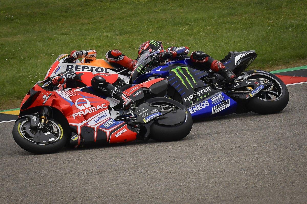 Johann Zarco, Pramac Racing, Fabio Quartararo, Yamaha Factory Racing, Marc Márquez, Repsol Honda Team