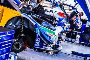 Car of Adrien Fourmaux, Renaud Jamoul, M-Sport Ford WRT Ford Fiesta WRC