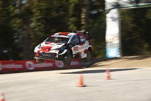 Takamoto Katsuta, Daniel Barritt, Toyota Yaris WRC