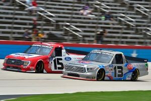 Tanner Gray, Team DGR, Ford F-150 Ford Performance, Johnny Sauter, ThorSport Racing, Toyota Tundra AHI Facility Services