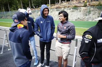 Alexander Albon, DAMS And Arjun Maini, Trident