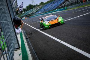 Race winners #63 GRT Grasser Racing Team Lamborghini Huracan GT3: Mirko Bortolotti, Christian Engelhart