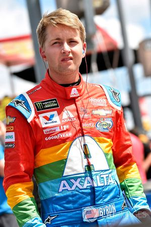 William Byron, Hendrick Motorsports, Chevrolet Camaro AXALTA Throwback