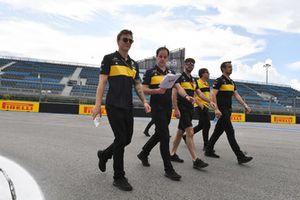 Artem Markelov, Renault Sport F1 Team walks the track