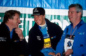 Michael Schumacher, Benetton met Tom Walkinshaw, Benetton en Pat Symonds, Benetton