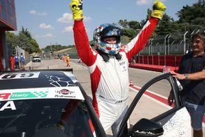 Il vincitore Enrico Bettera, Audi RS3 LMS-TCR, Pit lane Competizioni