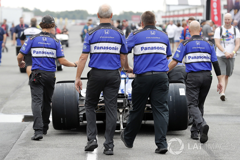 Takuma Sato, Rahal Letterman Lanigan Racing Honda equipo